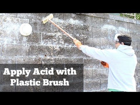 How to Clean Efflorescence Off Stone -- by Home Repair Tutor