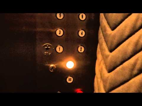 (1080p Take) Vintage Dover Traction Elevators @ 102 N. Cascade in Colorado Springs, CO