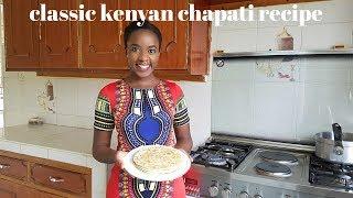 HOW TO MAKE CHAPATI | CLASSIC CHAPATI RECIPE | #BACKTOBASICS | KALUHI