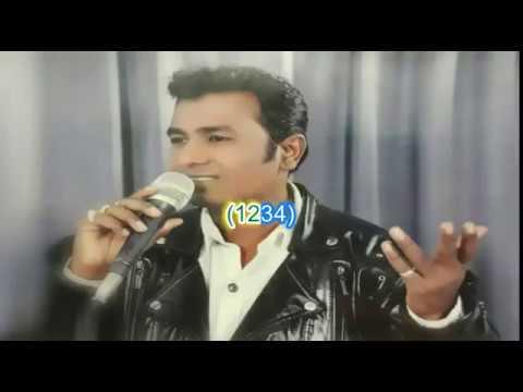 Oopar Khuda Karaoke with lyrics - Sukhwindar singh (Kacche Dhaage)