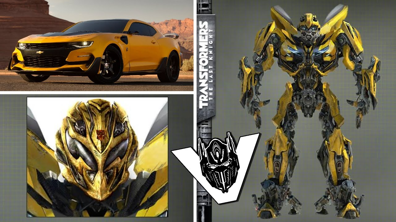 transformers 5 bumblebee robot design revealed youtube. Black Bedroom Furniture Sets. Home Design Ideas
