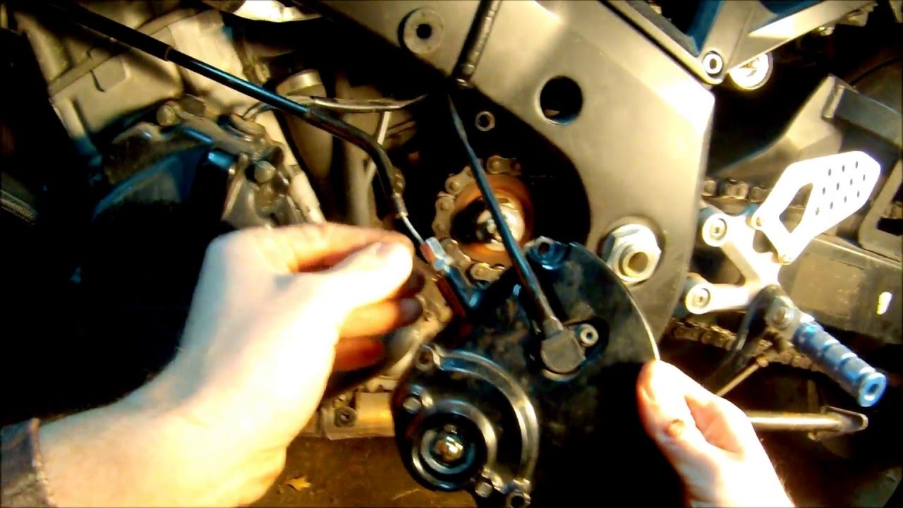 Suzuki Katana Clutch Cable Adjustment