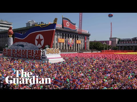 North Korea marks 70th anniversary with massive military parade
