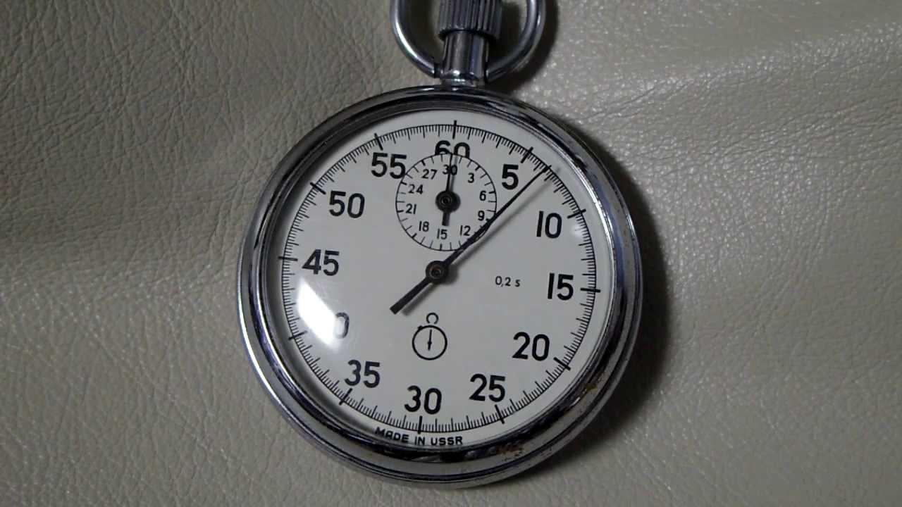 b745819a40ec USSR stopwatch - 2 - YouTube
