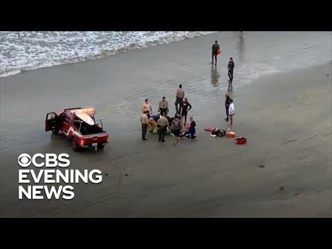 Shark attacks teen in Southern California