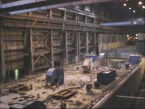 Shipbuilding Time Lapse in Tampa - See 8 months of work in 5 minutes
