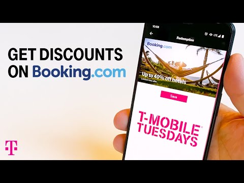 How To Get Discounts On Hotel Reservations Through Booking.com | T-Mobile Tuesdays