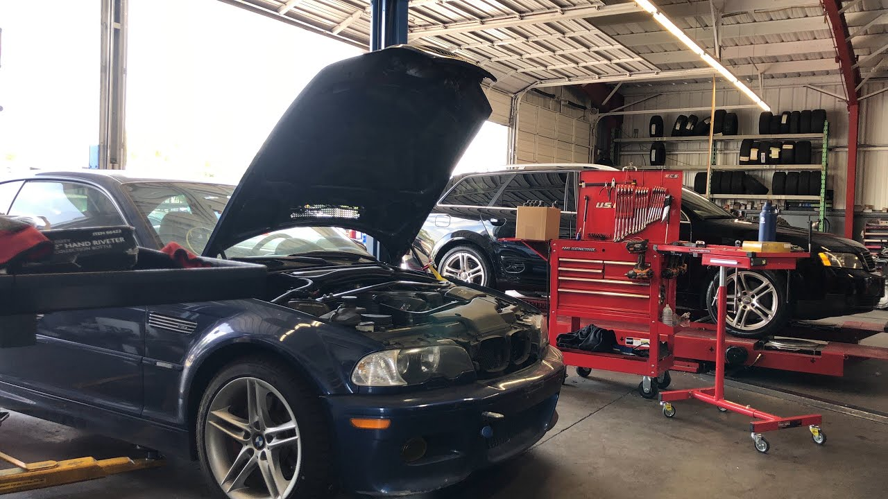 SMG TO MANUAL CONVERSION BMW E46 M3 part 1 - YouTube