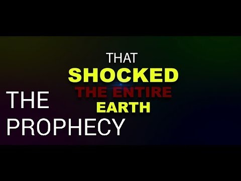STUNNING PROPHECY: MIGHTIEST PROPHET OF THE LORD COMMANDS INTO BEING AN ENTIRE NEW SOLAR SYSTEM