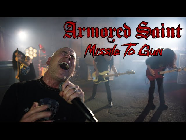 Armored Saint - Missile to Gun (OFFICIAL VIDEO)