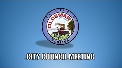 City of Oldsmar Council Meeting, 8/21/2018