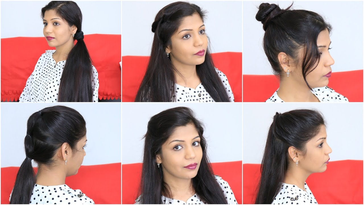 7 Quick & Easy Hairstyles For Lazy Girls