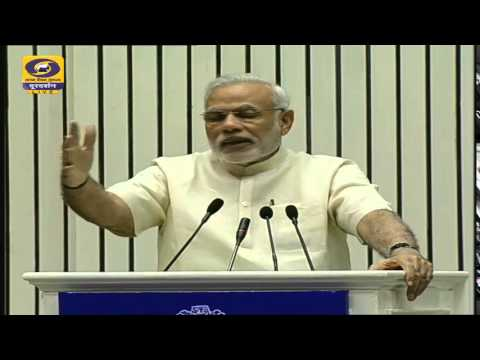 Launch of Atal Mission for Rejuvenation and Urban Transformation (AMRUT), Smart Cities Mission by PM