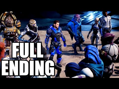 MASS EFFECT ANDROMEDA - Ending and After Credits / Epilogue - Full Ending
