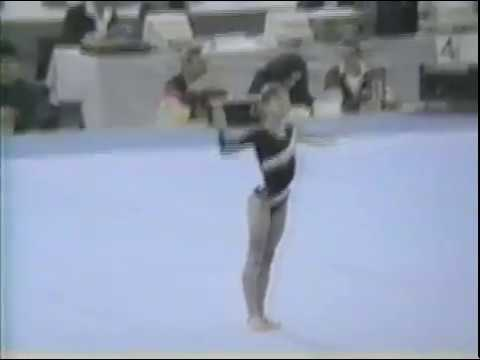 1989 World Gymnastics Championships - Women's Team Optionals, Bulgaria (SI HV)