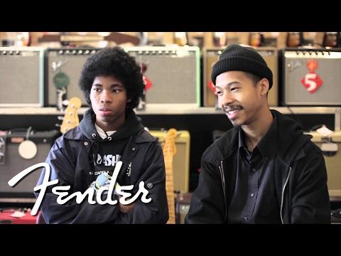 The Bots Talk Guitars at Truetone Music | Fender