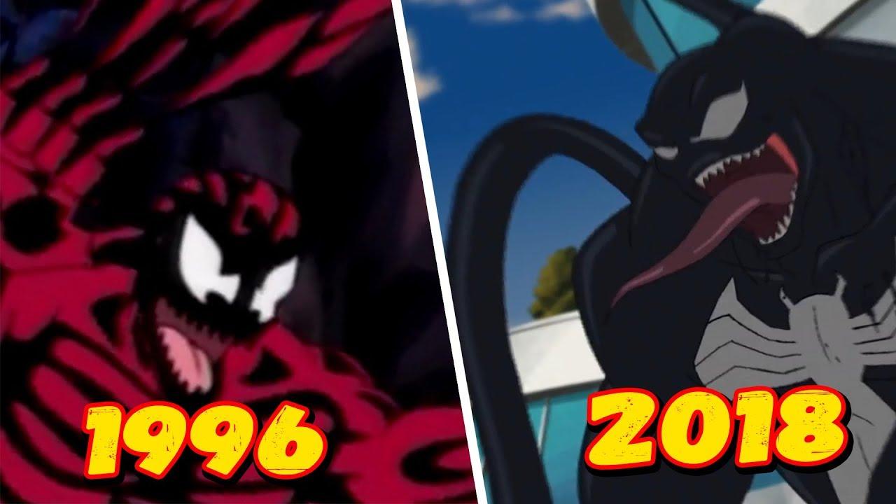 Эволюция Первого боя Венома против Карнажа (1996-2018 ...
