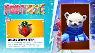 "*NEW* FORTNITE SEASON 7 GIFTING SYSTEM RELEASE DATE! *NEW* ""HOW TO GIFT SKINS"" IN FORTNITE SEASON 7!"
