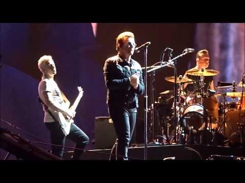U2 Red Hill Mining Town Multicam HD Audio Joshua Tree Tour 2017
