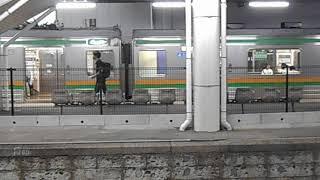 205系Y編成 宇都宮線 普通列車 黒磯行 発着 発車メロディー 「see you again」 岡本駅