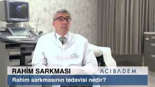 Rahim sarkmasının tedavisi nedir?