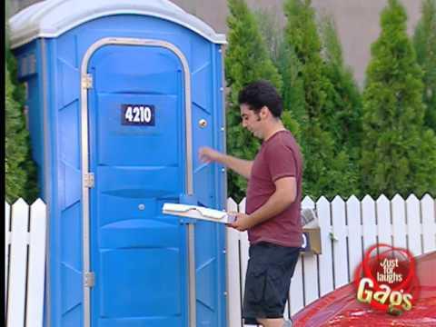 Fancy Man Living In Toilet