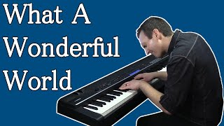What a Wonderful World - Gorgeous Piano Cover видео