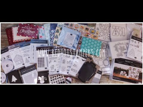 Repeat Stampin' Up! 2019 Holiday Catalog Preorder Haul and