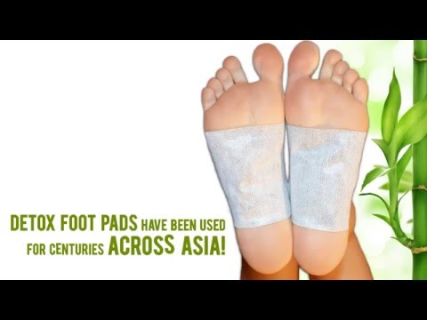 Asako Detox Foot Pads - All Certified Organic & PATENTED Ingredients For the Purest Cleanse