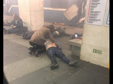 Explosion at St  Petersburg Metro Station in Russia 50 injured and 10 have died