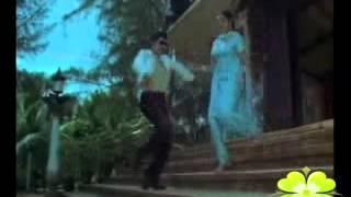 Jayasudha Hot Ass Press, Cleavage Show & Lip Kiss With Sobhanbabu