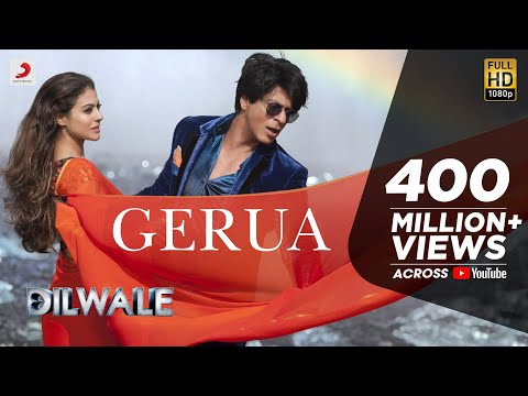Gerua – Shah Rukh Khan | Kajol | Dilwale | Pritam | SRK Kajol Official New Song Video 2015
