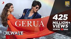 Mix – Gerua - Shah Rukh Khan | Kajol | Dilwale | Pritam | SRK Kajol Official New Song Video 2015