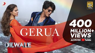 gerua shah rukh khan   kajol   dilwale   pritam   srk kajol official new song video 2015