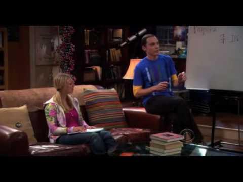 The Big Bang Theory - Sheldon teaches Penny Physics