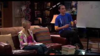 The Big Bang Theory - Sheldon teaches Penny Physics