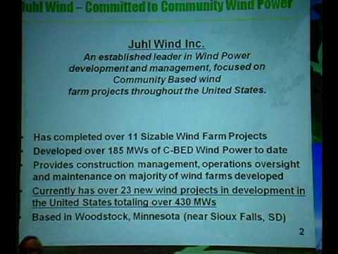 Juhl Wind Part 1