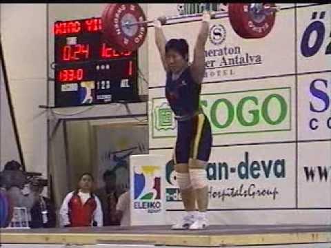 Women 63 kg 2001 World Weightlifting Championships - Antalya- by GENADI - Weightlifting Expert