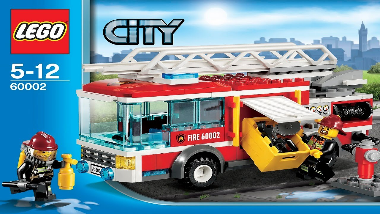 Lego City Instructions For 60002 Fire Truck Youtube