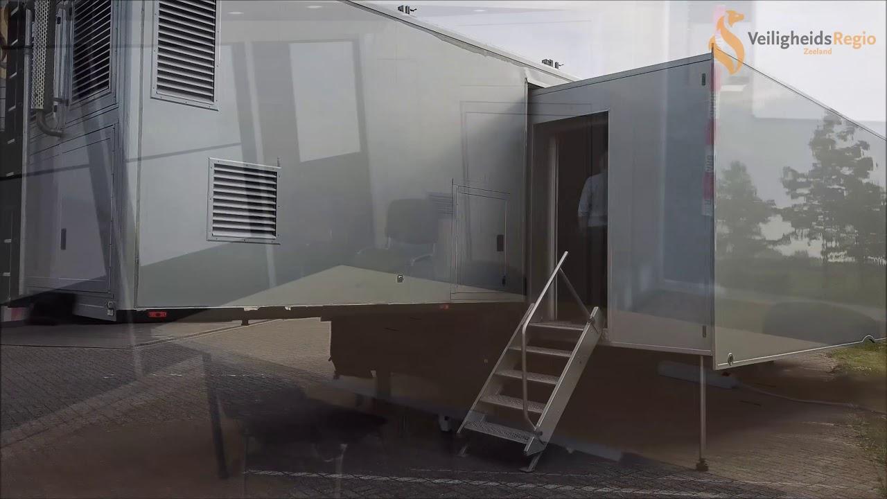 MCU 12 gereed om ingezet te worden als  CoPI ruimte Veiligheidsregio Zeeland