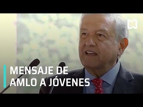 El presidente López Obrador, presenta el programa 'Jóvenes Construyendo el Futuro'