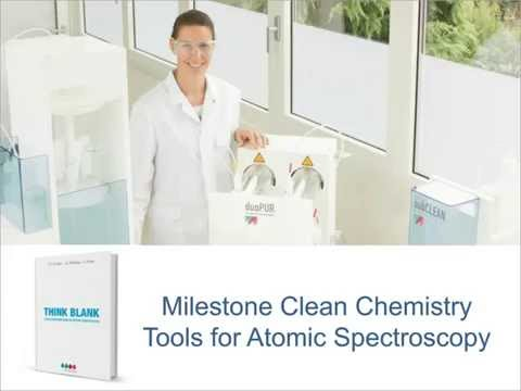 Think Blank: Clean Chemistry Tools for Atomic Spectroscopy