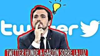 TWITTER HUMILLA A ALBERTO GARZÓN por su intervención sobre la factura de la luz