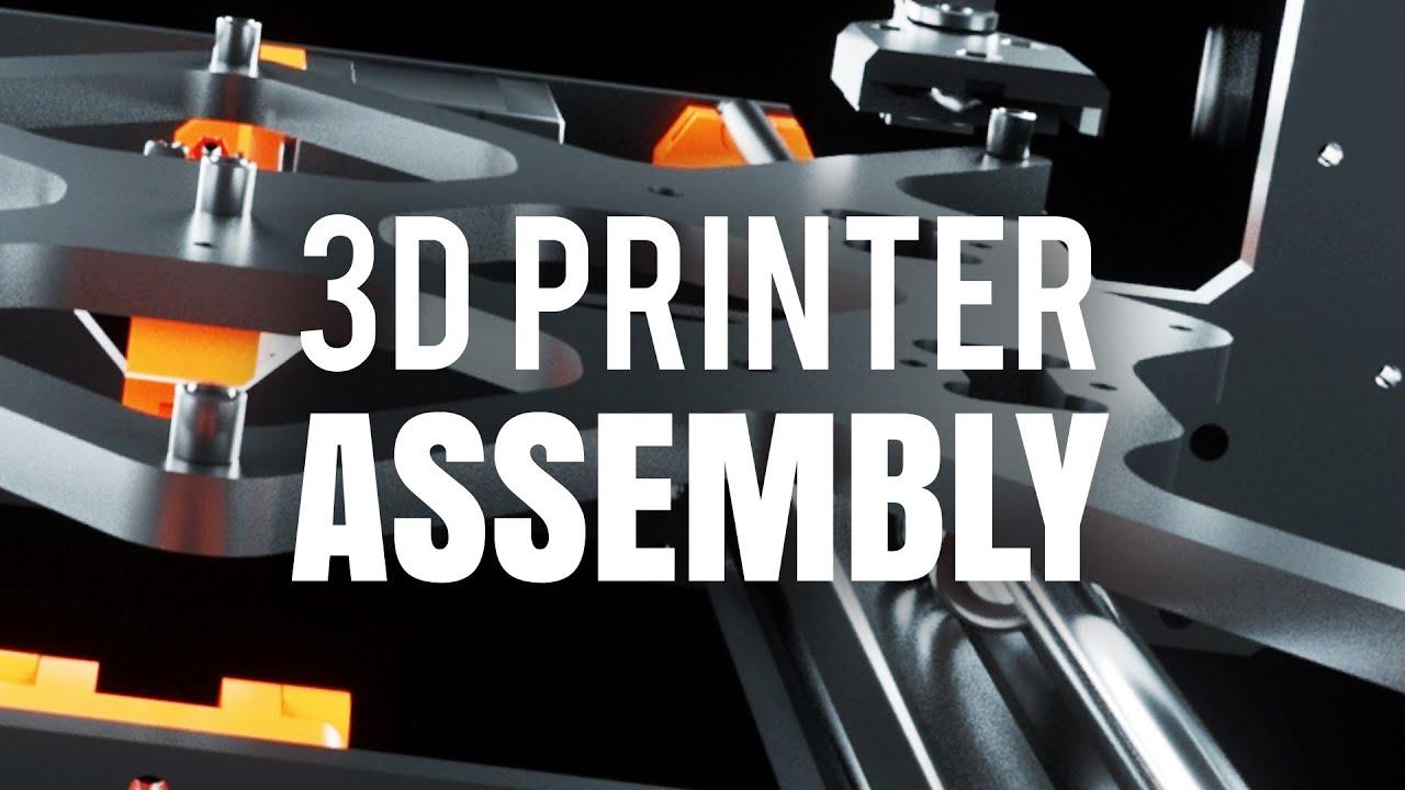 3D Printer - Assembly Animation
