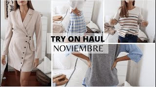 TRY ON HAUL NOVIEMBRE | SHEIN - Marilyn's Closet