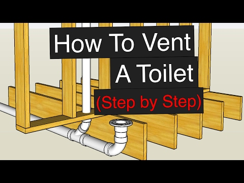 How To Vent & Plumb A Toilet (Step by Step)