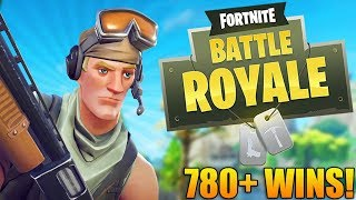 GOING FOR EPIC WINS! - 780+ Wins - Level 95+ - Fortnite Battle Royale Gameplay