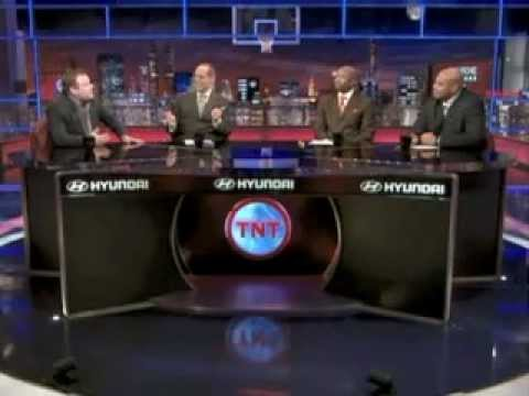 Frank Caliendo does Charles Barkley, Bill Walton.