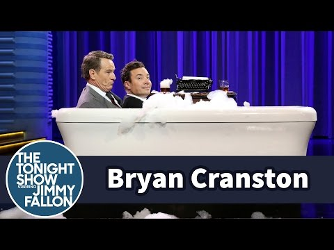 Bathtub Interview with Bryan Cranston