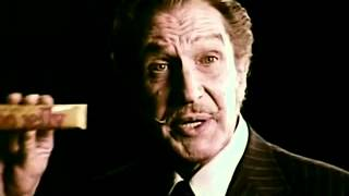 "Vintage Vincent Price ""peanut Butter With No Jelly"" Candy Bar Commercial"